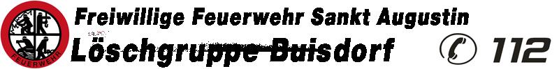 Feuerwehr Sankt Augustin – Löschgruppe Buisdorf